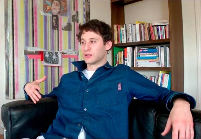 Jordan Wolfson in 'Spit Earth'.