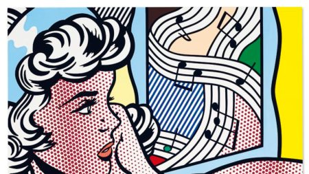 Roy Lichtenstein, 'Nude with Joyous Painting',