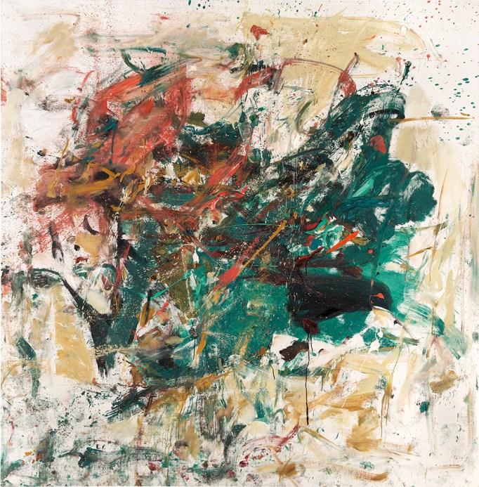 Joan Mitchell's Noël (1961–62), estimated at