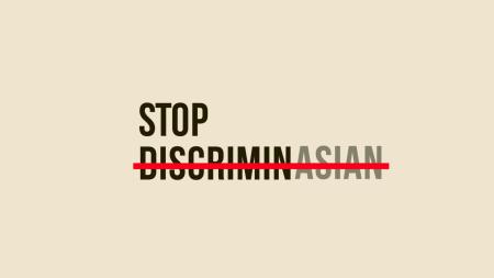 StopDiscriminAsian's logo.