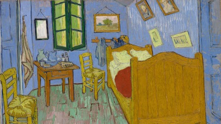Vincent van Gogh, The Bedroom, 1889.