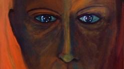 Anthony Hopkins painting, titled Tony (Self-Portrait).