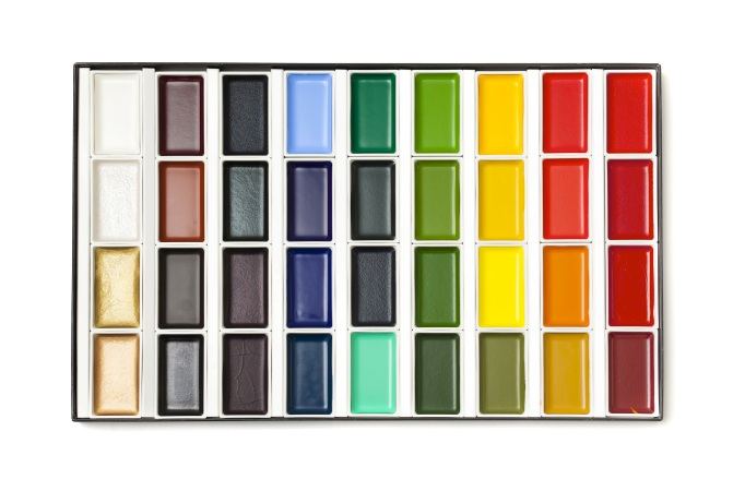 new watercolor paints set
