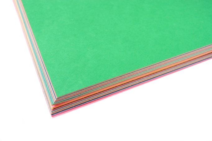 Construction paper for art projects