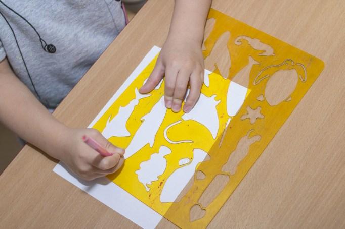 kids stencil set