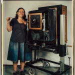 Elsa Dorfman, 'Me and My Camera,' 1986, dye‑diffusion photograph (Polaroid print)