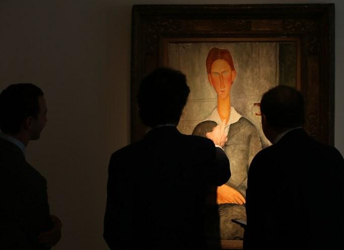 Amedeo Modigliani's 'Giovanotto dai capelli Rossi'