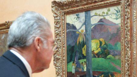 Paul Gauguin's 'Mata Mua' (1892) on