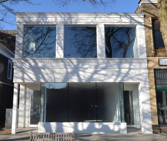 Exterior view of Hauser & Wirth's