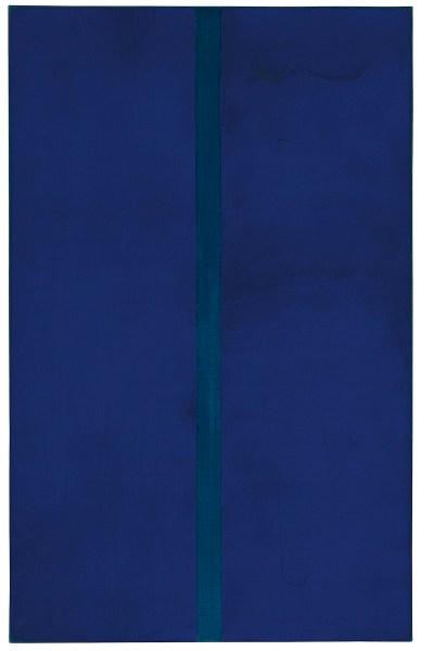 Barnett Newman, 'Onement V', năm 1948.
