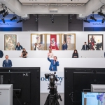 Sotheby's specialists bid in hybrid sale