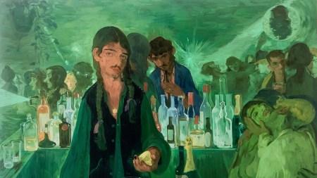 Salman Toor, 'The Bar on East