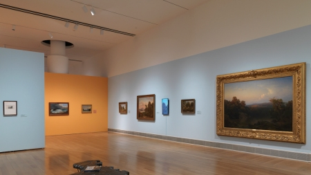 """Installation view of the exhibition """"From"""
