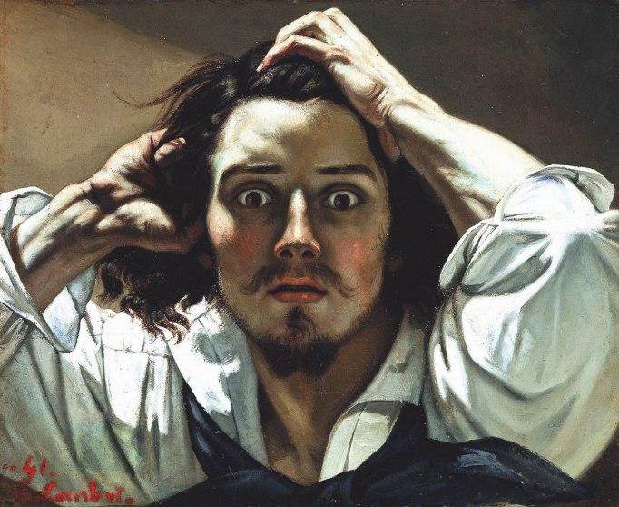 Gustave Courbet, 'Self-Portrait (The Desperate Man)',