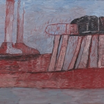 Philip Guston, 'Lower Level,' 1975, oil