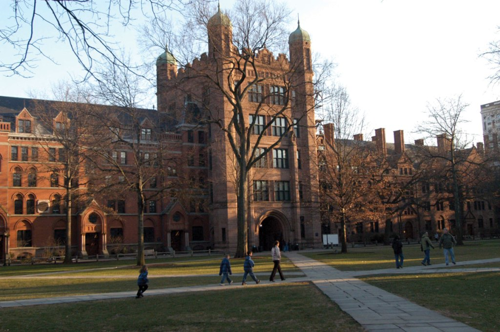 Yale University in New Haven, Connecticut.