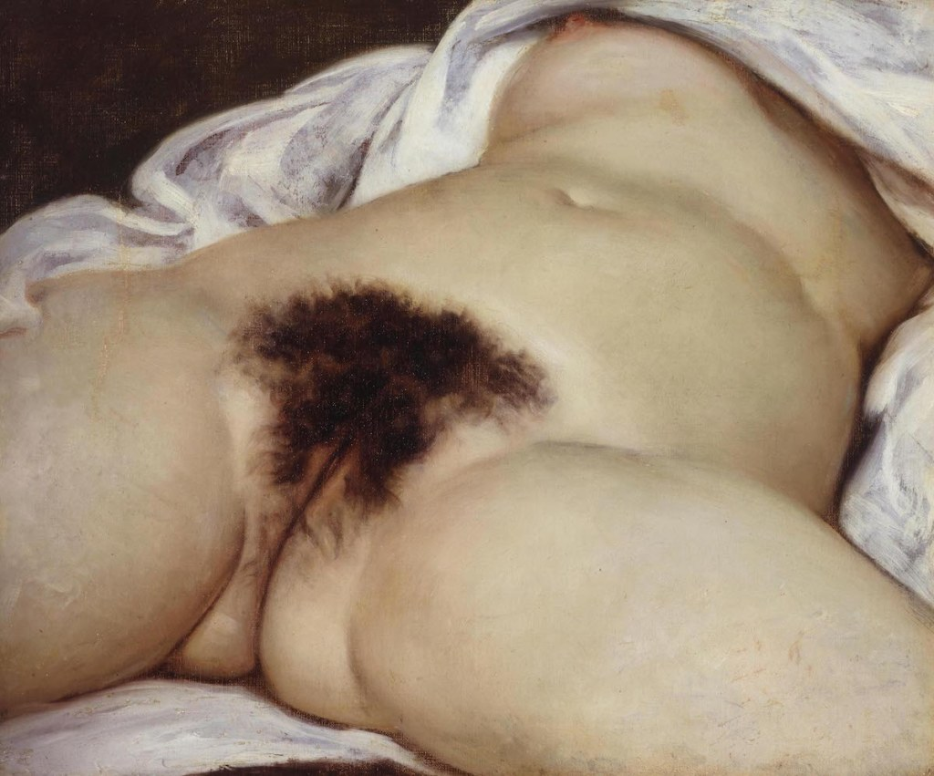 Gustave Courbet, 'The Origin of the World', 1866.