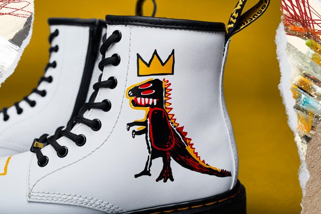 Dr. Martens Unveils New Collaboration with Jean-Michel Basquiat Estate