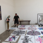 Cheryl Haines and Ai Weiwei in