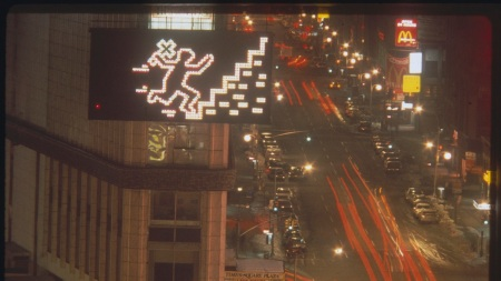 Keith Haring's digital work for the