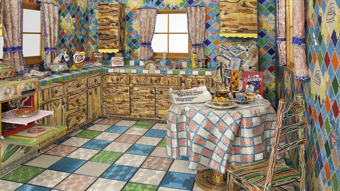 Liza Lou, Kitchen, 1991-96.