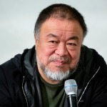 """Ai Weiwei presents """"Safety Jackets"""" to"""