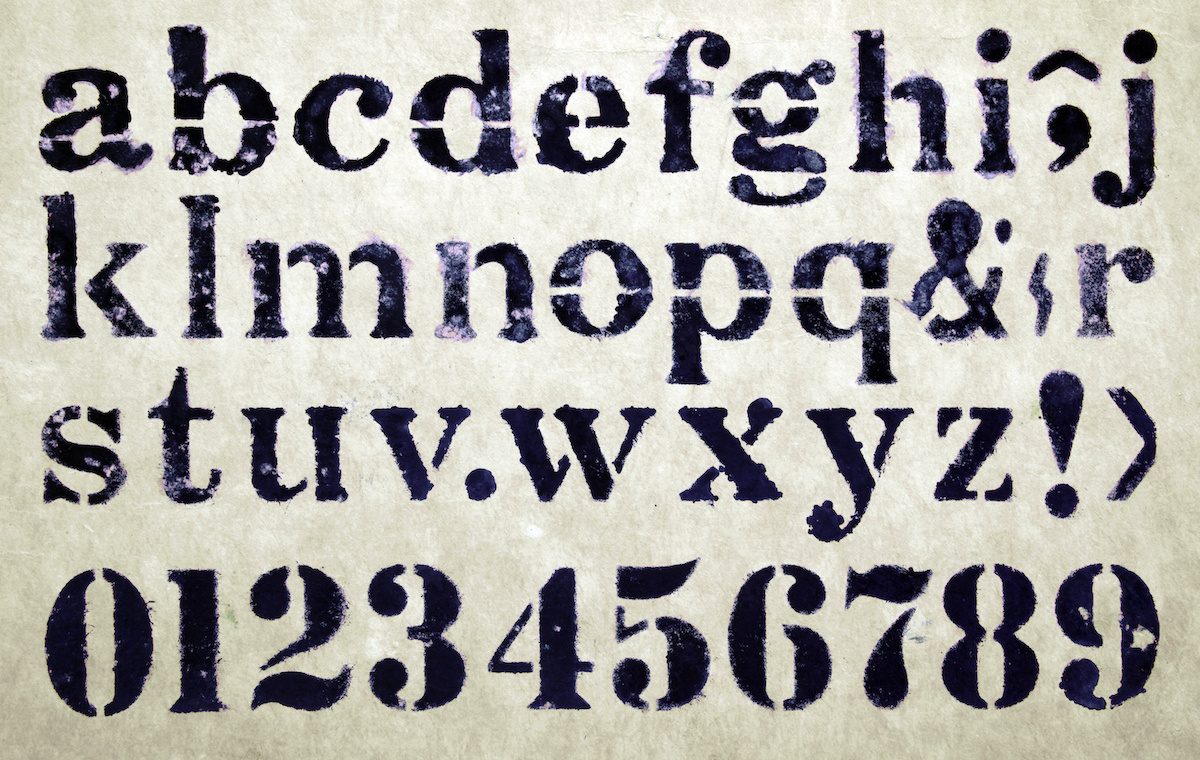 Best Letter Stencils For Art Projects And Crafts Artnews Com