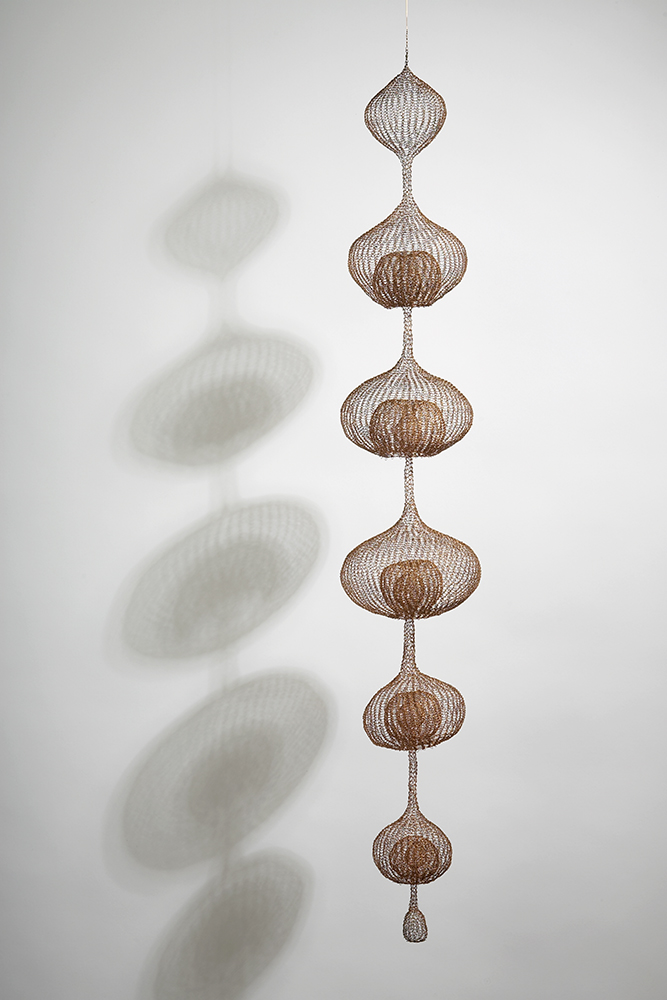Ruth Asawa, 'Untitled (S.077, Hanging Miniature Seven-Lobed Continuous Form within a Form),' ca. 1978