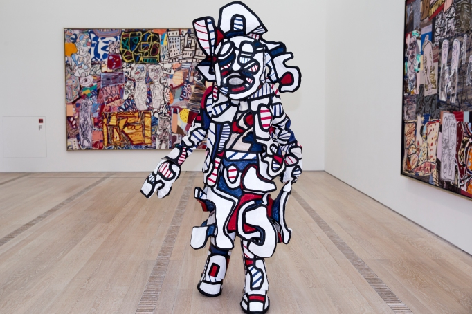 A performance of Jean Dubuffet's 'Coucou