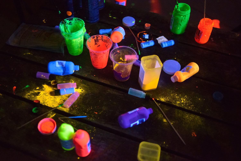 Drop it Glow Glow in the Dark Art