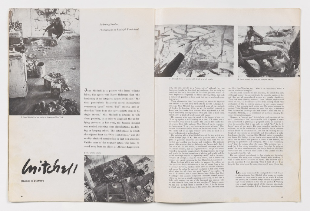 Mary Weatherford Revisits a 1957 ARTnews Profile of Painter Joan Mitchell