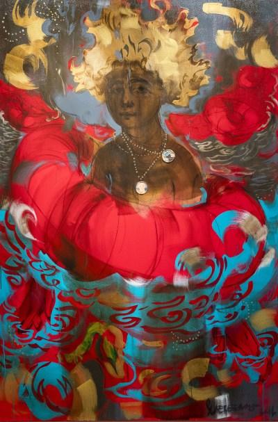 Scherezade Garcia, Super Tropics: La Mulata Blond, 2015.
