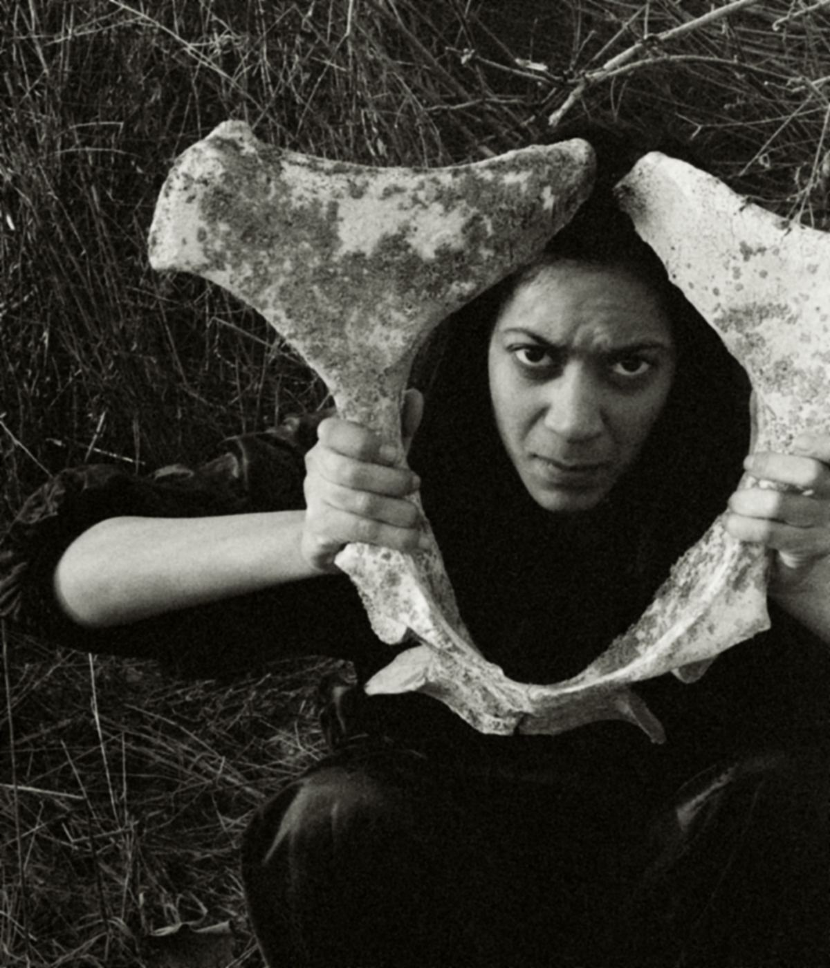 Alicia Grullón, Female with Mulehip, 2005, part of Becoming Myth: An Auto-ethnographic Study.