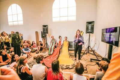 Hannah Toticki Anbert, Sacred Work Karaoke, 2016.