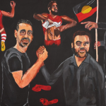 Vincent Namatjira, 'Stand Strong for Who