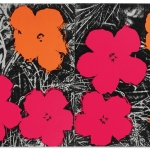 Andy Warhol, Flowers, 1965.