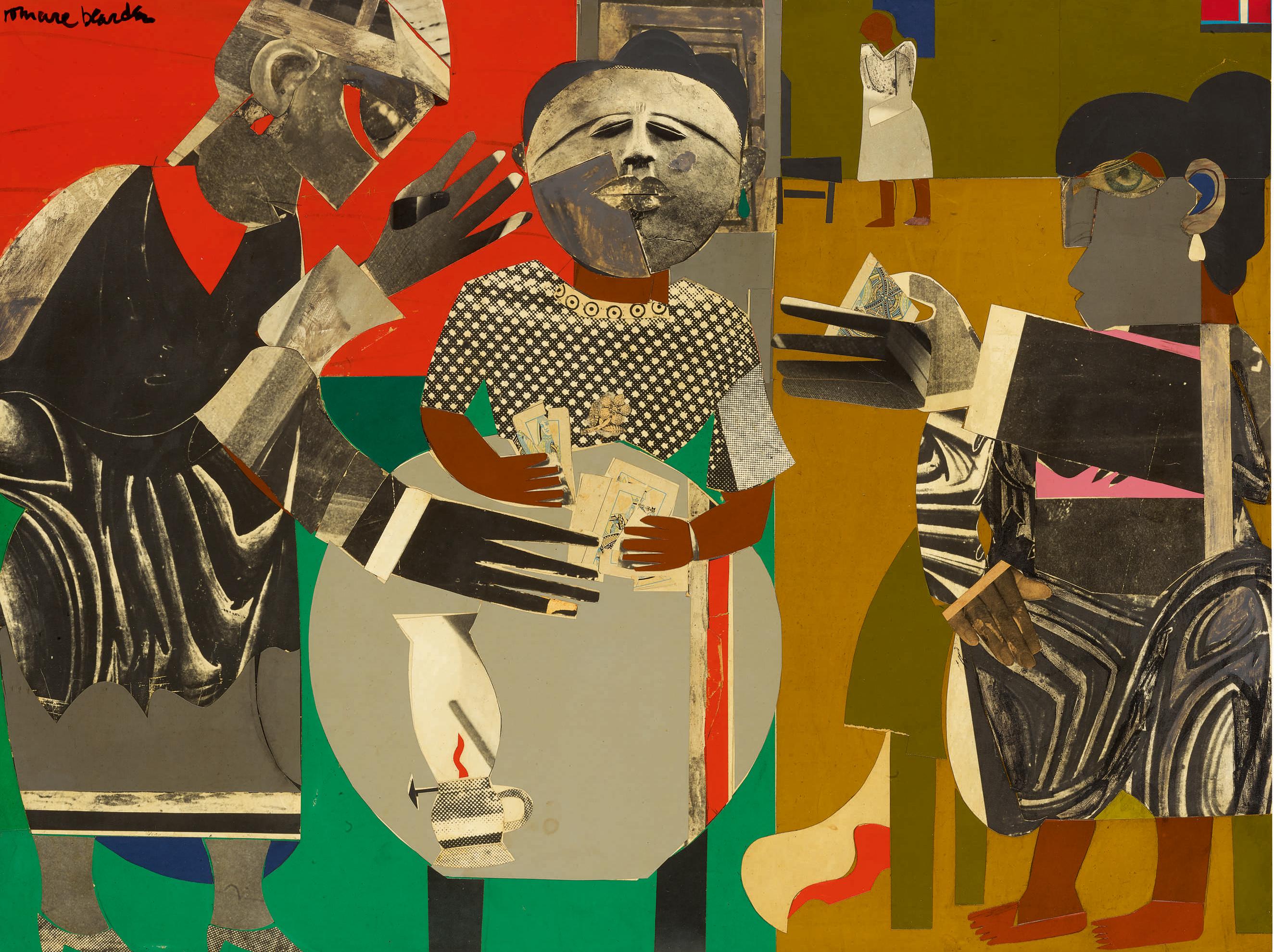Romare Bearden, 'The Fortune Teller', 1968.