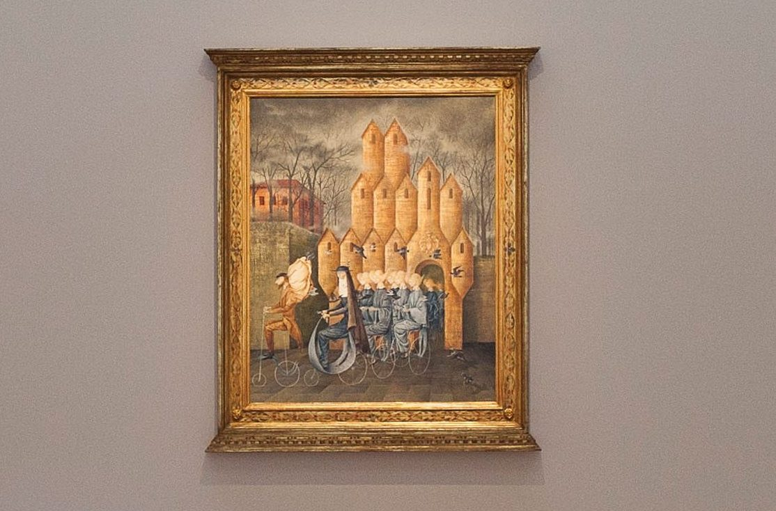 'Toward the Tower' by Remedios Varo.