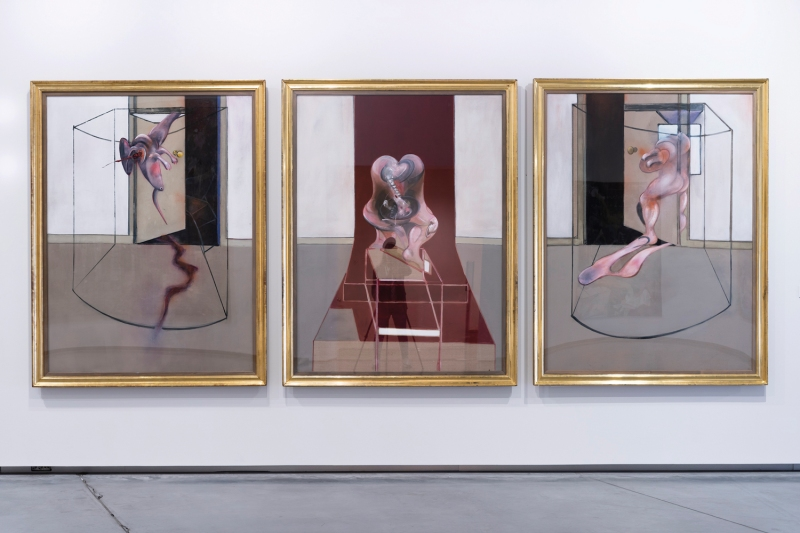 Francis Bacon, Triptych Lấy cảm hứng từ Oresteia của Aeschylus, 1981.