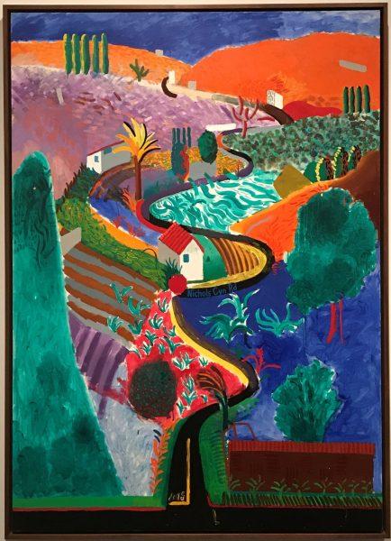 David Hockney, 'Nichols Canyon', 1980.