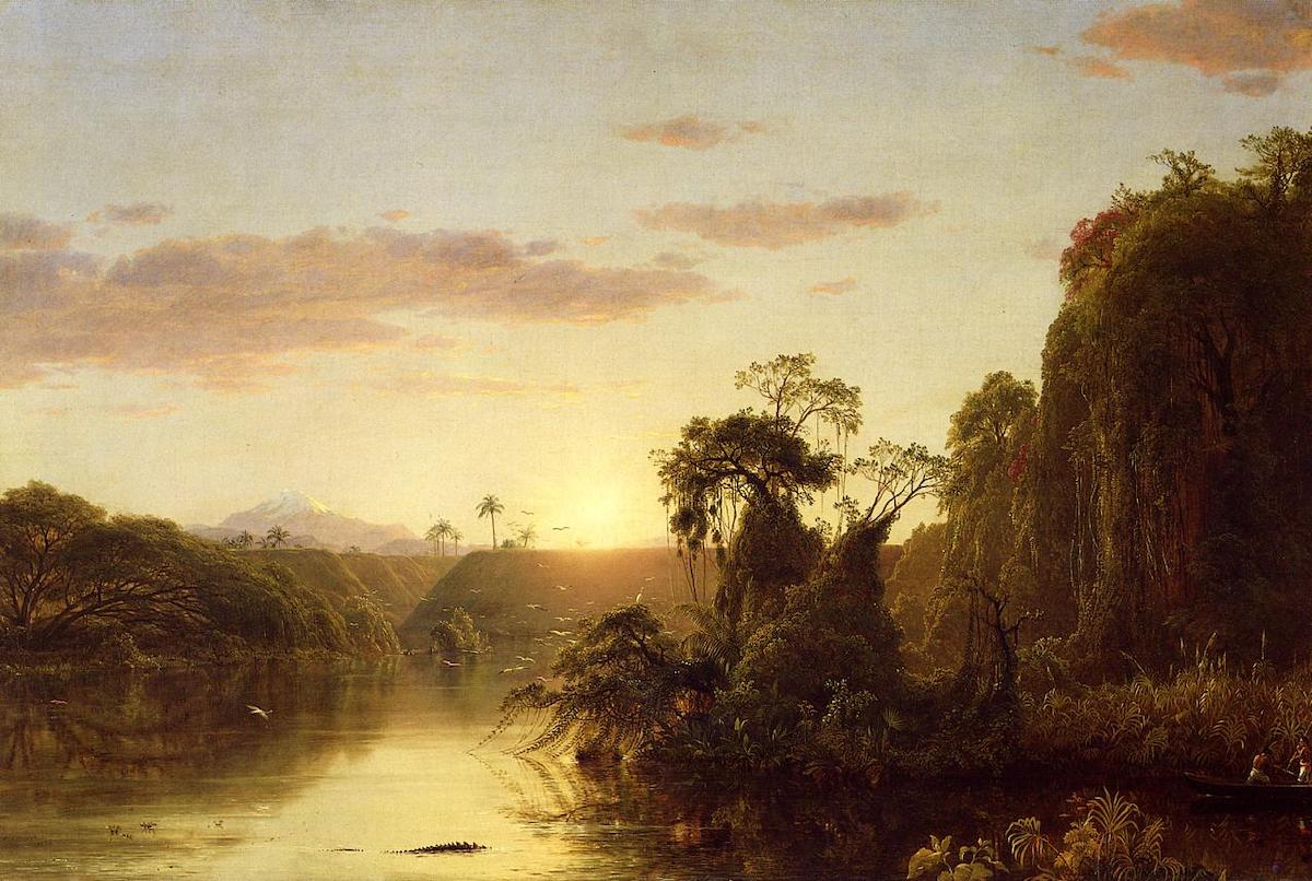 The AAMD sanctioned the National Academy Museum after it sold Frederic Edwin Church's 'Scene on the Magdalena' (1854).