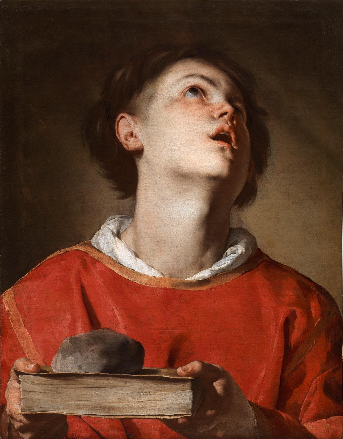 Bernardo Cavallino, Saint Stephen, ca. 1640–45.
