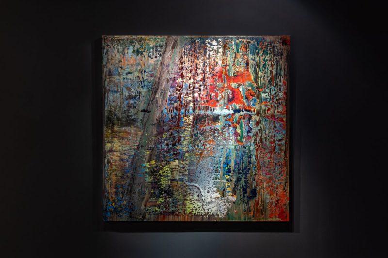 Gerhard Richter, 'Abstraktes Bild (649-2),' năm 1987.