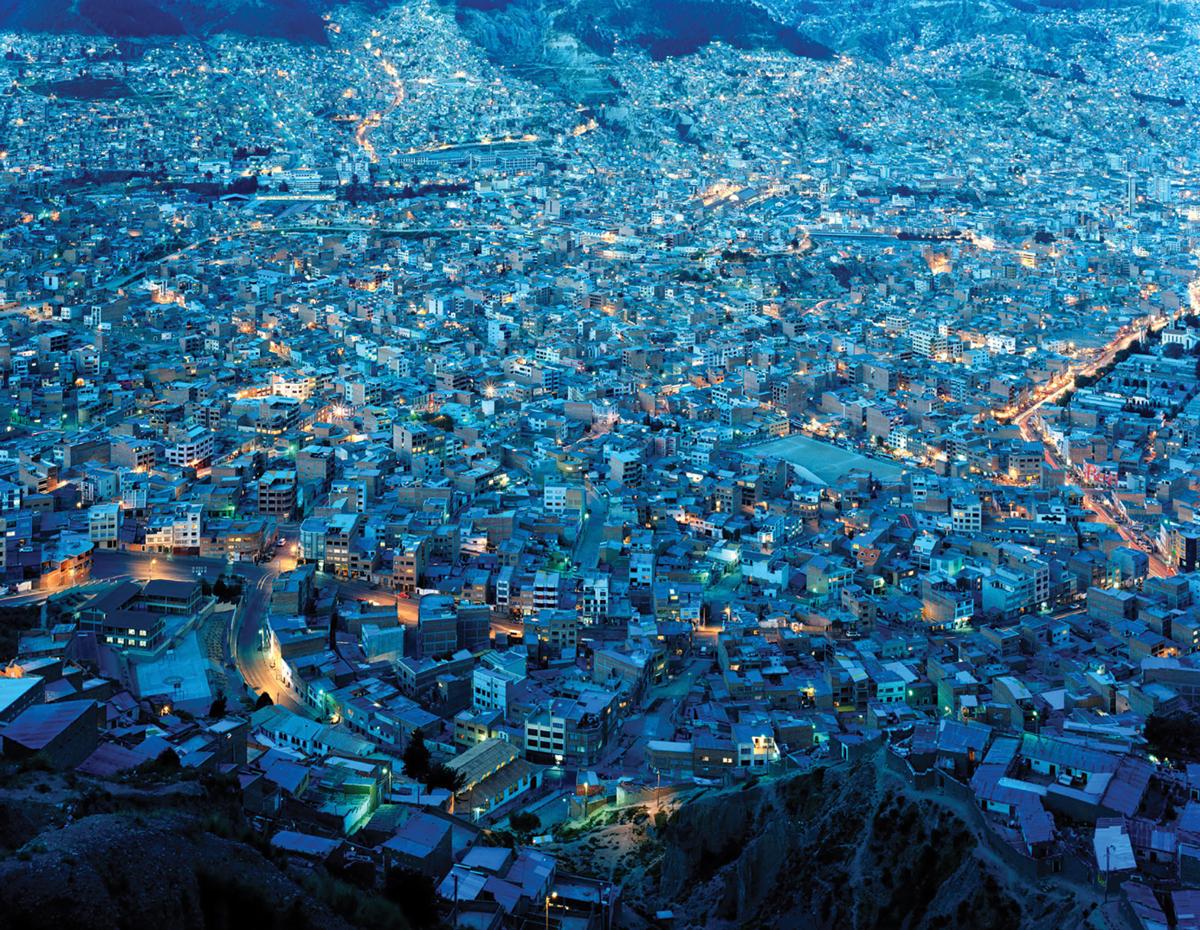 Stephan Ruiz's La Paz, Bolivia, 2003.