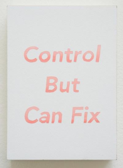 Sam Dirck's print Can Fix, 2017.