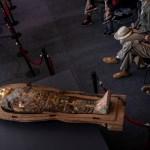 An ancient sarcophagus more than 2500