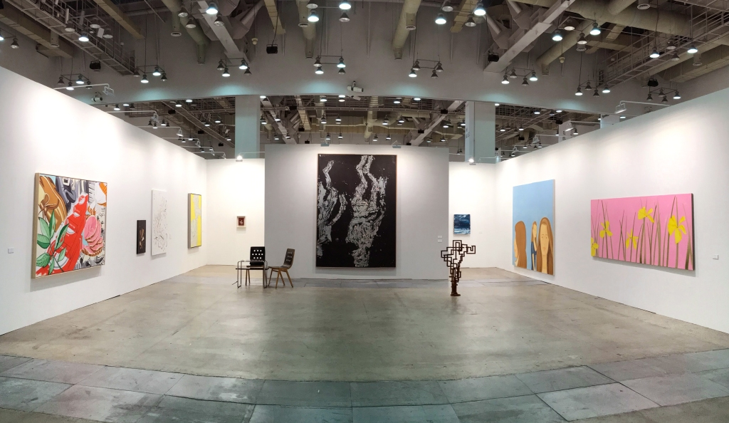 Ropac's booth at Art Busan & Design 2020.