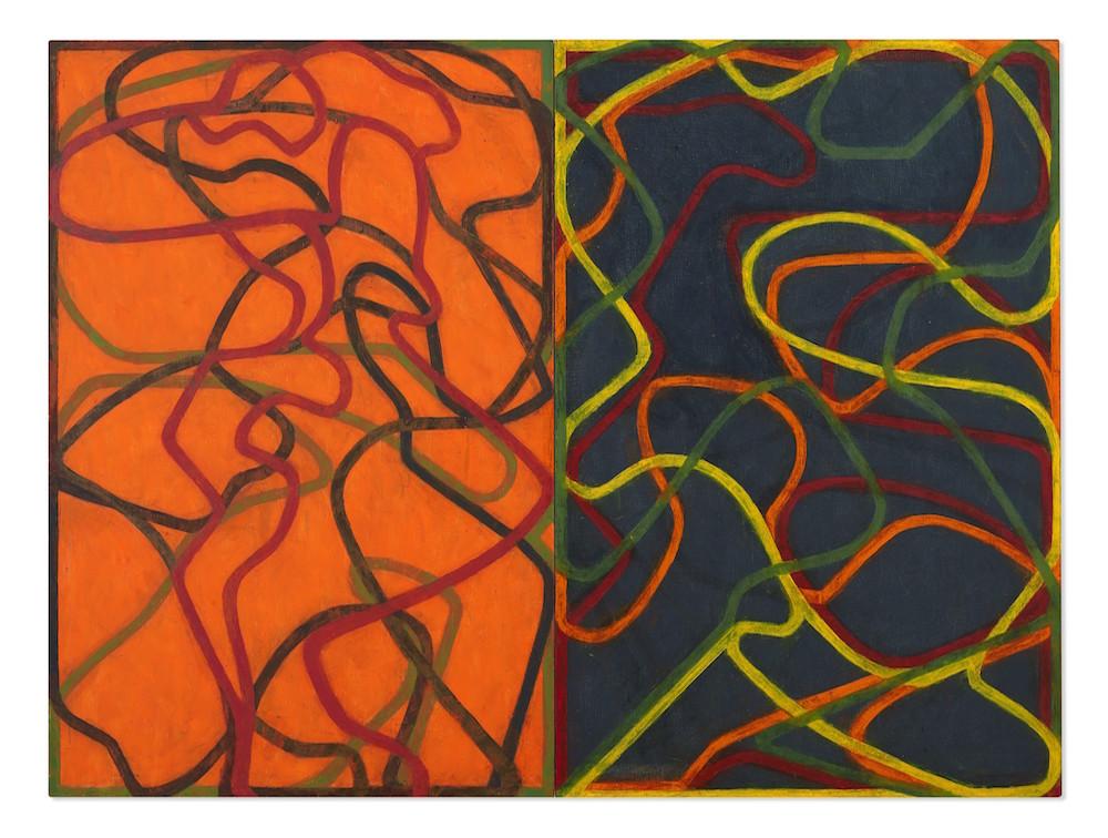 Брайс Марден. Дополнения, 2004-2007.  Продано на аукционе Christie's в 2020 г за USD 30,900,000