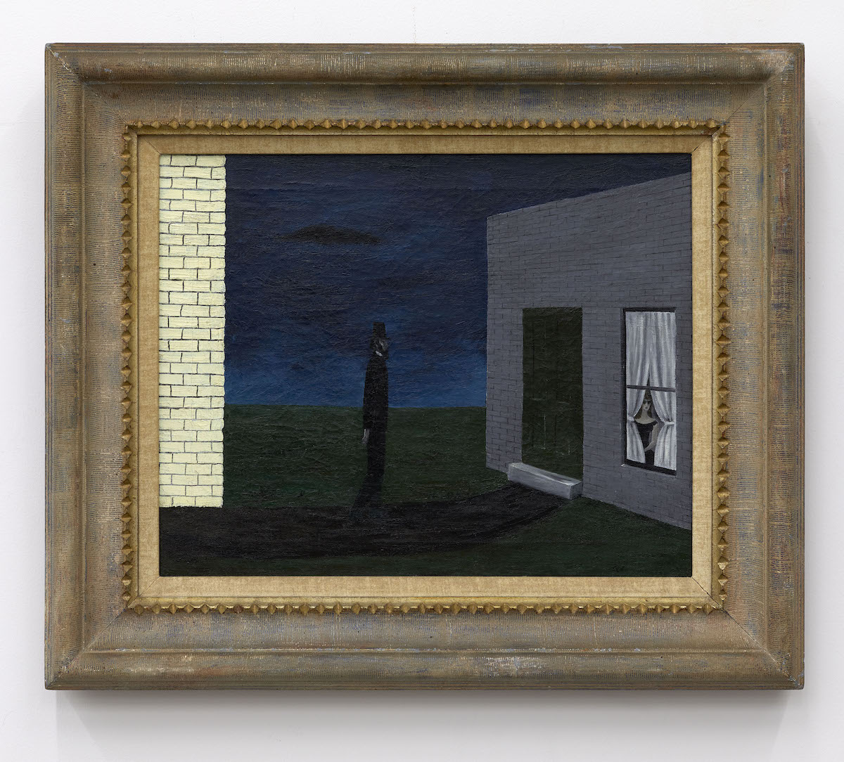 Gertrude Abercrombie, 'The Visit,' 1944, oil on canvas.