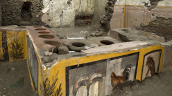 An ancient food stall at Pompeii